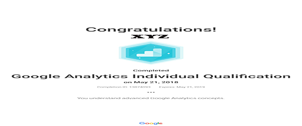 Google Analytics IQ Certification Exam, Pass Google Analytics