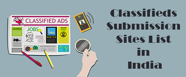 Top 188 Free Classified Submission Sites List in India 2019 With